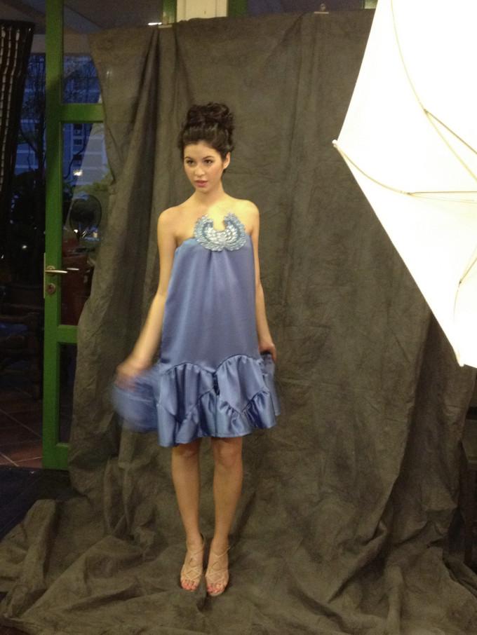 second batik dress