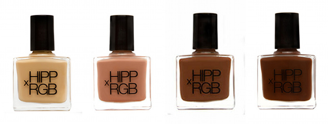 HIPPxRGB nail foundation opaque nude