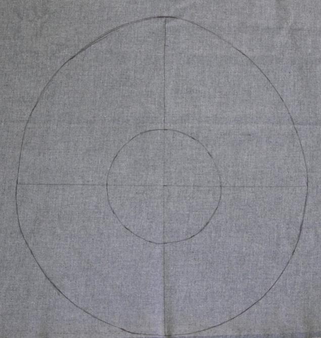 marking how to make leather peplum belt tutorial