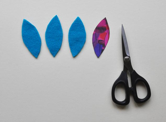 how to make a felt clutch tutorial 3