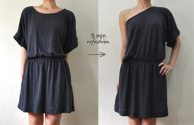 Toga Dress Diy Refashion