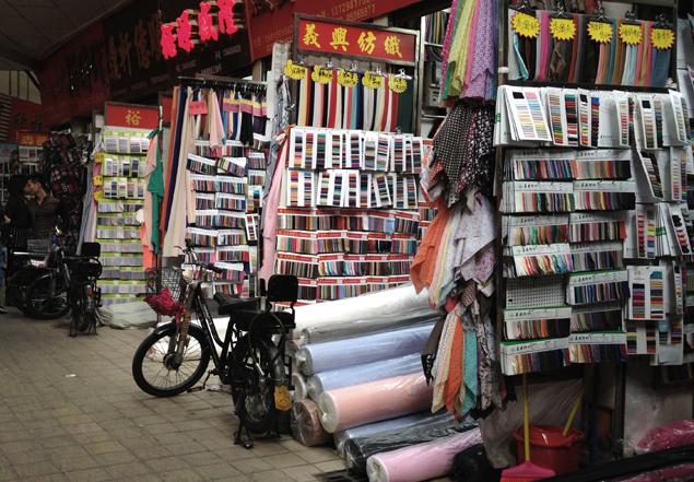 Zhongda fabric market guangzhou china