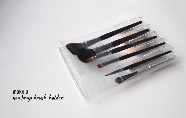 DIY tutorial - PVC makeup brush holder 619108e576677