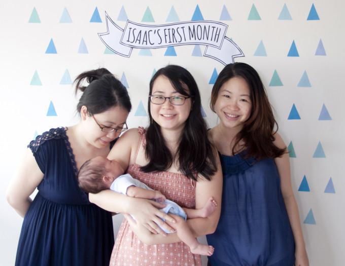 isaac and my sisters